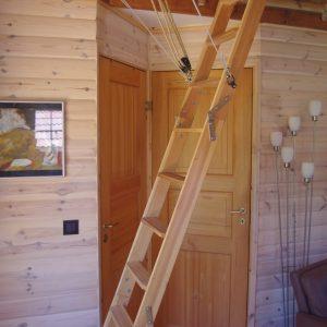 Trap naar balkong